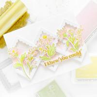 Pinkfresh Studio - Sweet Friend Layering Floral, Hot Foil Plate