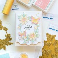 Pinkfresh Studio - Small Butterflies, Kerrossapluunasetti