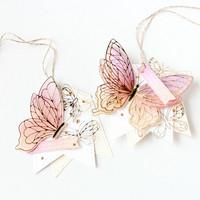 Pinkfresh Studio - Small Butterflies, Hot Foil Plate