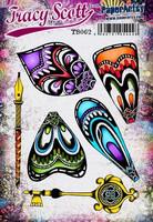 PaperArtsy - Tracy Scott 062, Leimasetti, A5