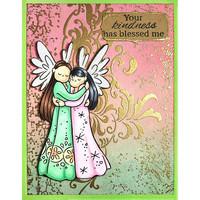 Stampendous - Angel Hugs, Leima