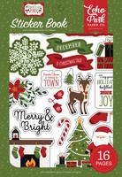 Echo Park - Christmas Magic, Sticker Book, Tarrasetti