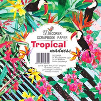 Decorer - Tropical Madness, Paper Pack 8