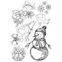 Gemini - Stamp & Die, Frosted Embellishments, Stanssi- ja leimasetti