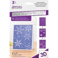 Gemini - 3D Embossing Folder & Stencils, Snowflake Medley