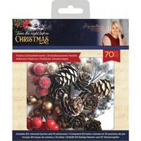 Crafter's Companion - Twas the Night Before Christmas, Festive Embellishments, 70osaa