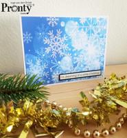 Pronty Crafts - Chistmas Text, Tarra-arkki