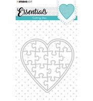 Studio Light - Cutting Die Essentials nr.62, Stanssisetti, Puzzle Heart