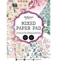 Studio Light - Mixed Paper Pad, Essentials nr.8, A5, Paperikko
