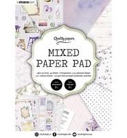 Studio Light - Mixed Paper Pad, Essentials nr.3, A5, Paperikko