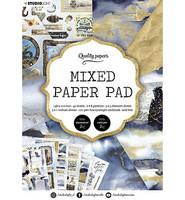Studio Light - Mixed Paper Pad, Essentials nr.159, A5, Paperikko