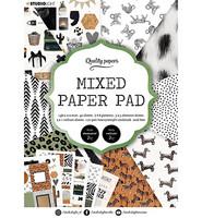 Studio Light - Mixed Paper Pad, Essentials nr.5, A5, Paperikko
