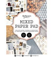 Studio Light - Mixed Paper Pad, Essentials nr.4, A5, Paperikko