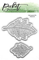 Picket Fence Studios - Oak Leaves, Stanssisetti