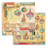 Stamperia - Christmas Patchwork, Paper Pack 12