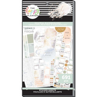 MAMBI - Happy Planner, Neutral Watercolors, Tarrasetti, 30arkkia