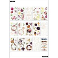 MAMBI - Happy Planner, Seasonal Floral Classic, Tarrasetti, 30arkkia