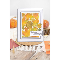Crafter`s Companion - Autumn Blessings, 3D Kohokuviointitasku, Autumnal Foliage