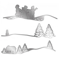 Gemini - Edge'ables Dies, Stanssisetti, A Snow Day Scene