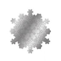 Gemini - Stamp & Die, Icy Snowflake, Stanssi- ja leimasetti