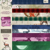 Crafter's Companion - The Reindeer Collection, Paper Pad 12