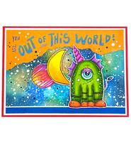 Studio Light - Art By Marlene, Out Of This World nr.73, Leimasetti, Big Bots