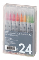ZIG Clean Color Real Brush-setti, 24kpl