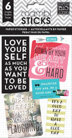 Happy Planner tarrasetti, Love Yourself, 6arkkia