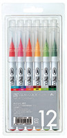 ZIG Clean Color Real Brush-setti, 12kpl