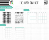 MAMBI - BIG Happy Planner, Six Month Extension Pack, Lisäsivusetti