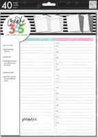 MAMBI - BIG Happy Planner paperisetti, Daily Sheets