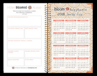 Bloom 2017 Hardcover Fashion Planner Best Year Ever
