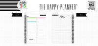Happy Planner paperisetti, Daily Sheets - CLASSIC