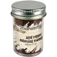Stampendous Frantage Aged Embossing Enamel, aged copper, 18g