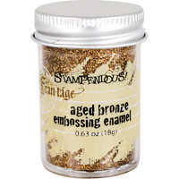 Stampendous Frantage Aged Embossing Enamel, aged bronze, 19g