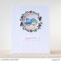 Stanssi, Mama Elephant Creative Cuts, Oh Happy Birds