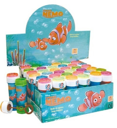 Nemo saippuakuplat 36kpl 60ml