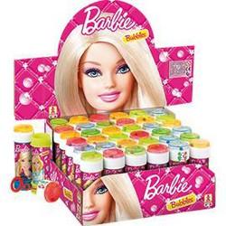 Barbie saippuakuplat 36kpl 60ml
