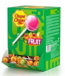 Chupa Chups Fruit tikkarit 100kpl/laatikko
