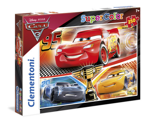 Clementoni 250 palan palapeli Cars 3, super color