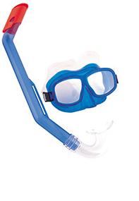 Bestway Queste snorkkelisarja  7-14 vuotiaille (sininen tai punainen)