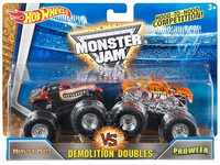 Hot Wheels Monster Jam kahden autonsetti, Koko 1:64 DMK71