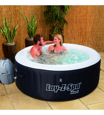 Bestway Lay-Z-Spa Miami 180x66 cm poreallas