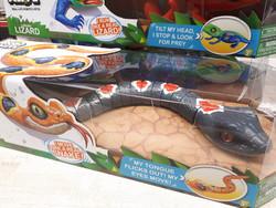 Robo Alive Harmaa käärme