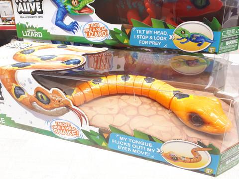 Robo Alive Oranssi käärme