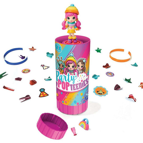 Party Popteenies Surprise Poppers nukke