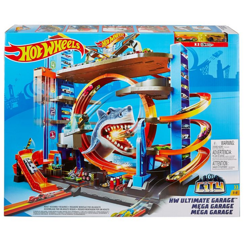 Hot Wheels Parkki talo, Ultimate Mega Garage