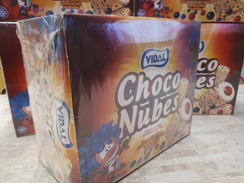 Choco nubes päällystetty vaahtokarkki 75kpl/ltk