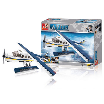 Rakennuspalikat Aviation Series Vesitaso