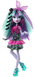 MONSTER HIGH Electrified Monstrous Hair -hahmo, Twyla